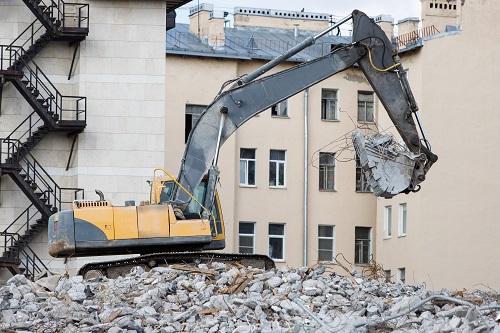 Entreprise de démolition à Annecy